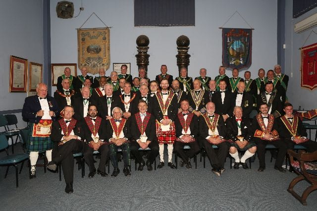 Lodge East Rand Scots 1093 Annual Festival of Installation - 24 Aug 2018