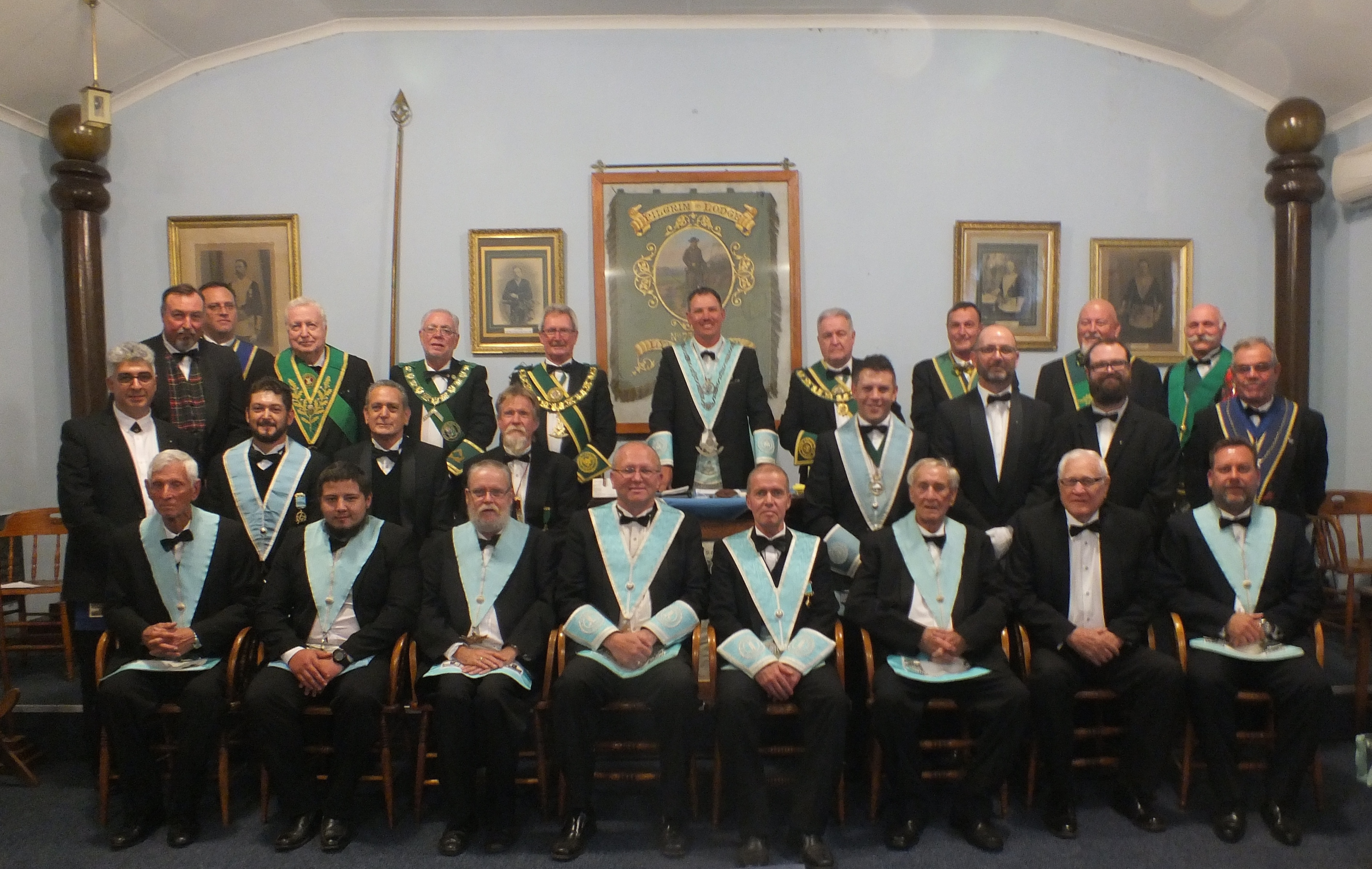 LODGE THE PILGRIM INSTALLATION 2018