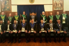 Lodge St Andrew Installation 2018